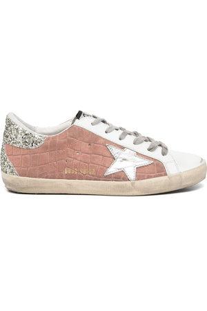 Golden Goose Damen Sneakers - Superstar glitter details sneakers