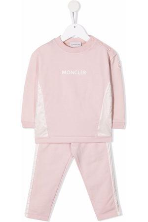 Moncler Outfit Sets - Logo-print cotton tracksuit set