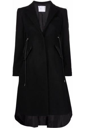 Sacai Drawstring waist coat