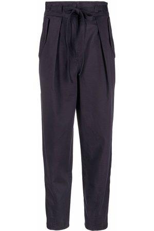 ULLA JOHNSON Damen Hosen & Jeans - High-waisted tapered trousers