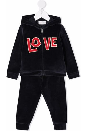 Moncler Outfit Sets - Love velour tracksuit set