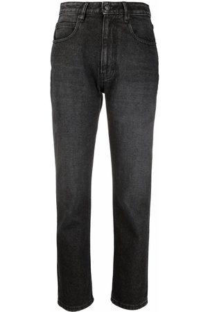 Ami Gerade High-Waist-Jeans