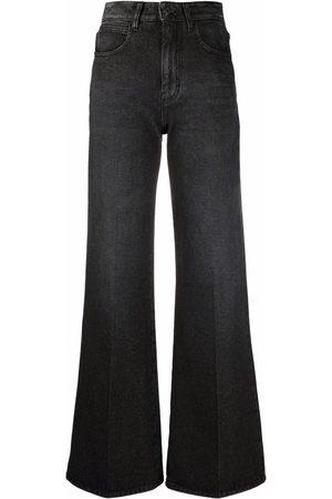 Ami Bootcut-Jeans mit hohem Bund