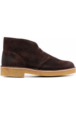 Clarks Herren Halbschuhe - Lace-up suede desert boots