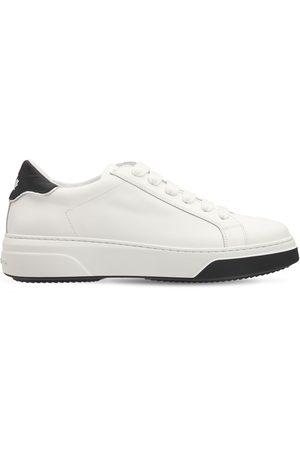 "Dsquared2 30mm Hohe Ledersneakers ""bumper"""