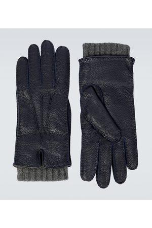Loro Piana Handschuhe Stirling aus Leder