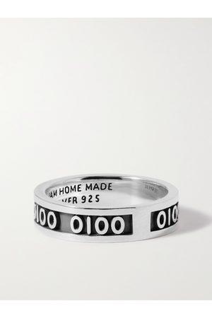 Jam Homemade Sterling and Enamel Ring