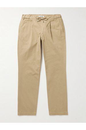 Saman Amel Herren Chinos - Stretch-Cotton Drawstring Trousers