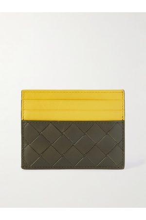 Bottega Veneta Colour-Block Intrecciato Leather Cardholder