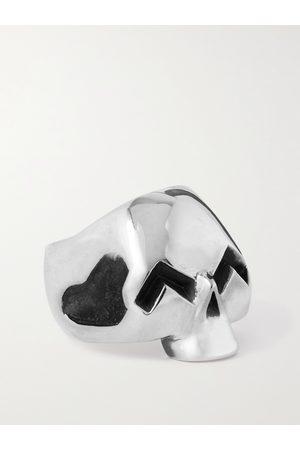 Jam Homemade Smile Skull Sterling Ring