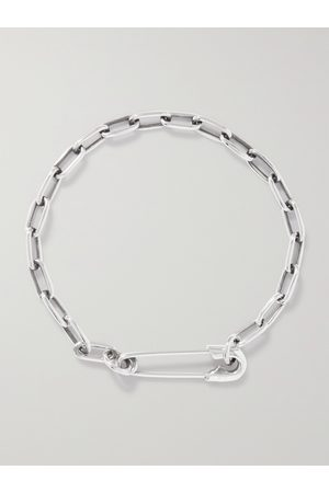 Jam Homemade Safety Pin Sterling Bracelet