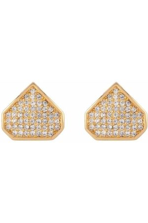Dior 1980s pre-owned drop-shaped clip-on earrings