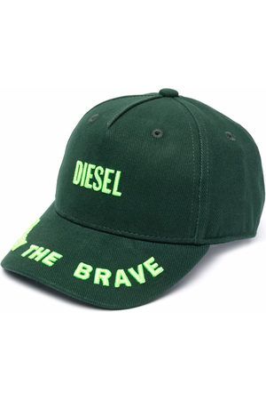 Diesel Baseballkappe mit Logo-Stickerei