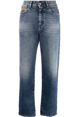 Diesel Damen Baggy & Boyfriend - Ausgeblichene Boyfriend-Jeans