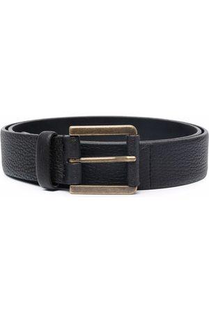 Pal Zileri Herren Gürtel - Textured leather belt