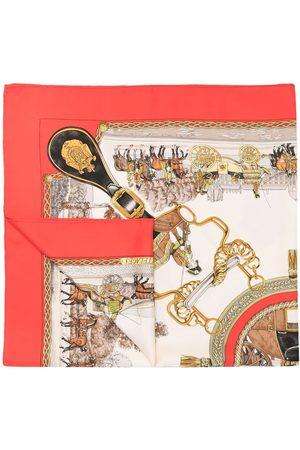 Hermès 1972 pre-owned Grands Attelages silk scarf