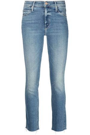 Mother Faded slim-cut jeans
