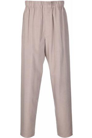 LEMAIRE Damen Hosen & Jeans - Elasticated-waist silk trousers - Nude