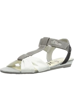 s.Oliver Mädchen Casual T-Spange, (Grey Comb 202)