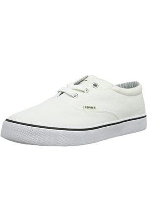 Esprit Nic Lace UP 024EKKW010, Jungen Sneaker, (white 100)