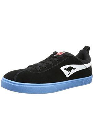 KangaROOS Tail 7252A Unisex-Erwachsene Sneaker, (blk/Flyhigh 543)
