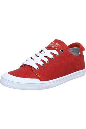 Hub Brooklyn-W C W12-05 C-C01-24, Damen Sneaker, (red/wht 24)