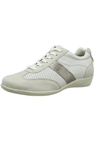 Hassia Roma, Weite H 7-301642-67990 Damen Sneaker, (Kiesel/Multi 6799)