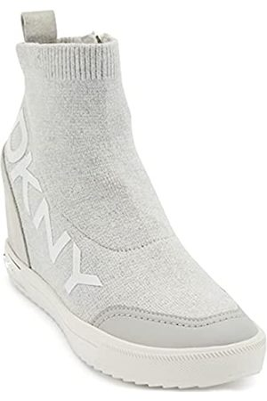 DKNY Damen Sneaker, Heather Grey/Pebble Catelin
