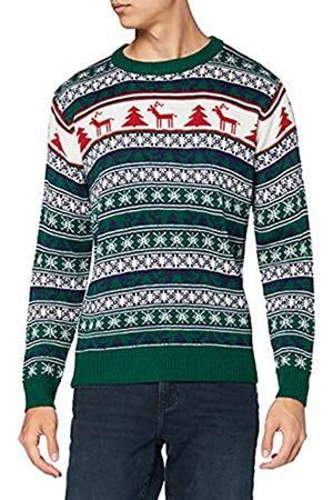 NIZZIN Unisex Weihnachtspullover Elm 6F0370 - 1