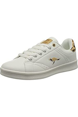 KangaROOS Damen K-Ten II Sneaker, White/Leo