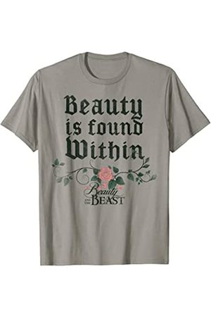 Disney Beauty And The Beast Roses Graphic T-Shirt
