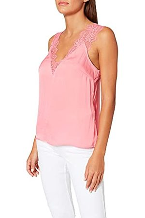 Morgan Damen Blouse Bretelles Larges en Dentelle Orla T-Shirt