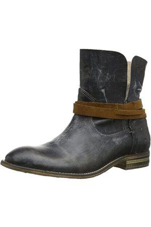 Yellow Cab Damen Cowboy & Bikerboots - Damen Tate W Cowboy Stiefel, (Antracite)