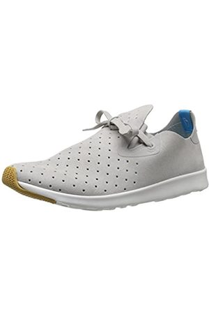 Native Shoes Native Unisex Apollo Moc Fashion Sneaker, Pigeon/Shell White/Natural Rubber