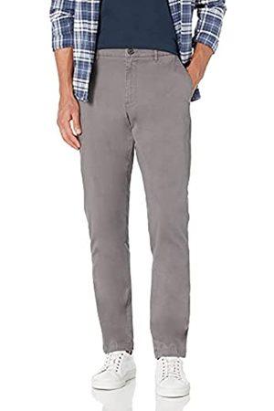 Goodthreads Amazon-Marke: Herren-Chinohose, sportliche Passform, gewaschen, bequem, Stretch (Grey)