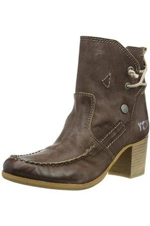 Yellow Cab Damen Lane W Chelsea Boots, (Dkbrwn)
