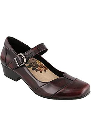Taos Footwear Damen Balance Mary Jane, (Dark Cherry)