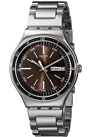 Swatch Herren-Armbanduhr Analog Edelstahl YGS753G