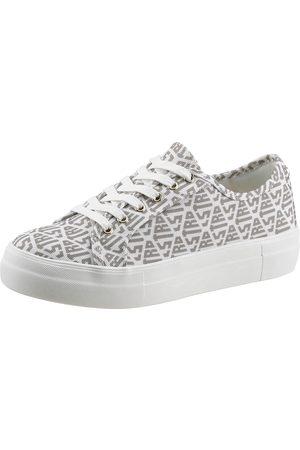 La Strada Plateausneaker »Fashion Sneaker«, mit Allover Logoschriftzug