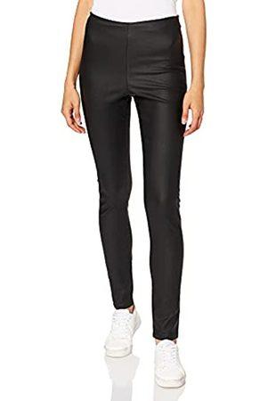 VILA CLOTHES Damen VICOMMIT RW New Coated-NOOS Hose