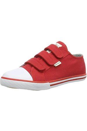 ESPRIT Timmy Tape 024EKKW011, Unisex-Kinder Sneaker, (caravan red 608)