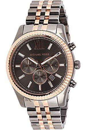 Michael Kors Herren Chronograph Quarz Uhr mit Edelstahl Armband MK8561
