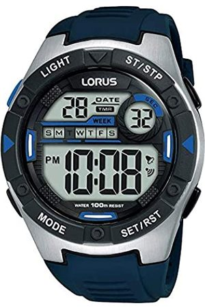Lorus Digital Man Herren Uhr digital Quarzwerk mit Silikon Armband R2395MX9