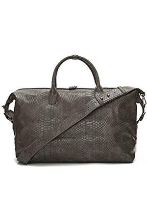 Lulu Dharma Reisetasche aus veganem Leder (50,8 x 35,6 x 19,1 cm) Wochenendtasche für Damen und Herren – Handgepäck mit strapazierfähigem Reißverschluss und Kreuzkörpergurt
