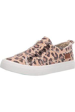 Blowfish Damen Play Sneaker, Natürlicher Jumbo-Kitty-Leopard