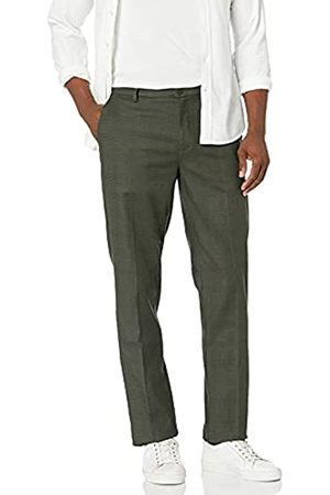 Goodthreads Amazon-Marke: Herrenhose, sportliche Passform, knitterfrei, Chino Stil, Olive Glen Plaid