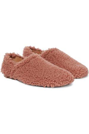 DRIES VAN NOTEN Slippers aus Shearling