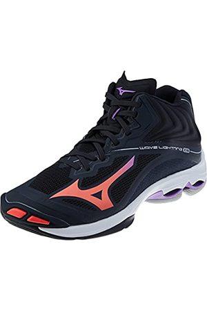 Mizuno Damen Wave Lightning Z6 Mid Volleyball-Schuh, IndiaI/FieryCoral2265C