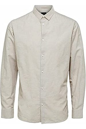 SELECTED Male Hemd Leinen und Bio-Baumwolle SCrockery