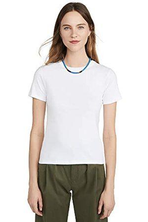 Petit Bateau PetitBateauDamenTeeShirtMcEcumeT-ShirtNotApplicableWeiß(Ecume01e)Small(Herstellergröße:S/16S16Jahre)